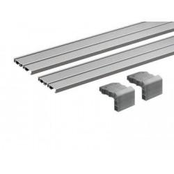 Напраляющая внутренняя для 2-х дверного шкафа   2500 мм    Slide Line M (2 шт)    Hettich (9227245)