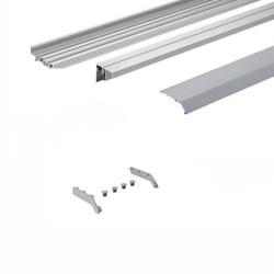 Комплект профилей topline XL тип 2, L= 4000, перфорация, алюм.