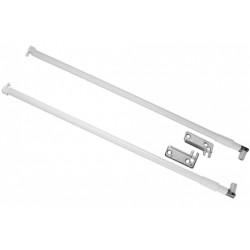 Продольный рейлинг 350мм белый (МВ00081W/350)