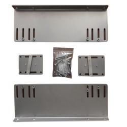 Крепление - подвес для цокольного ящика с металл.боковинами (Калибра)