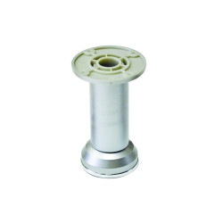 Ножка пластик, мат.хром  Н=60мм                          (ДК 2-50.22)