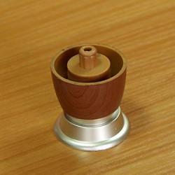 Ножка-рюмка пластик, коричневая Н=50мм