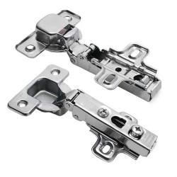 Петля  накладная  без пружины (Заглушки для петли в комплекте)           GTV (ZP-COCA450-BE)/200