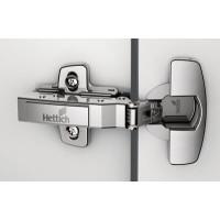 Петля  накладная  с доводчиком    3D регулировка            Hettich   (9071205/9090260+9071667)