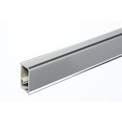 Плинтус прямой алюминий 15*30мм  (3м)