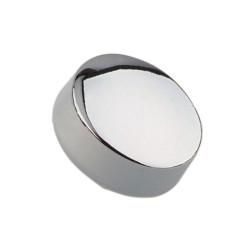 Зеркалодержатель (боковой пластик), хром- овальный