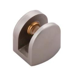 Полкодержатель для стекла до 4-6 мм  18*20 сатин            Boyard (P512SN)