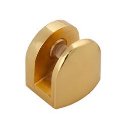 Полкодержатель для стекла до 8 мм Р513GP золото