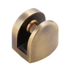 Полкодержатель для стекла до 4-8 мм, 24*25  бронза         Boyard (P513AB) (30 шт)