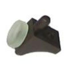 Полкодержатель с присоской п/м d-5 мм, коричневый