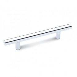 Ручка рейлинговая 160 мм хром (Торец Овал)