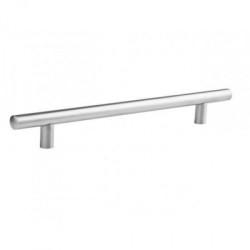 Ручка рейлинговая 256 мм алюминий (Торец Овал)