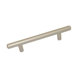 Ручка рейлинговая 128 мм сатин       GTV