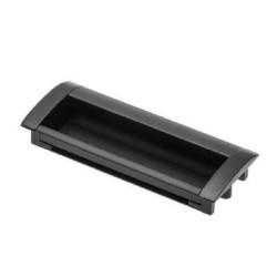 Ручка врезная,черный матовый 128мм             GTV(UA-00-326128-20M) (15 шт)