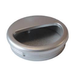 Ручка врезная круглая, метталик         МФ(6364)