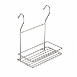 Полка релинга, хром 1-я прямоуг.200*110*250 на высоком креплении       (МХ-067)/МФ (48131)
