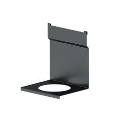 Держатель для круглого стакана под ложки Черный бархат матовый   (1A.3018.9005)