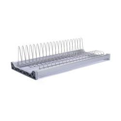 Сушка для посуды 800 мм L образная одноуровн.                    (580)