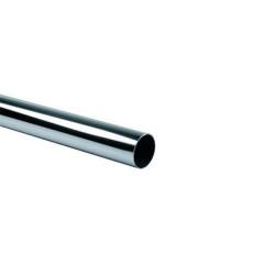 Труба Д25 (3м) хром  (1мм)
