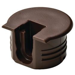 Стяжка  б/винта  RAFIX TAB   коричневый  H16мм D20 мм  Hafele (263.09.133)