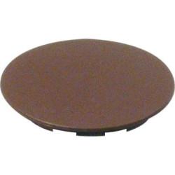 Заглушка стяжки MAXIFIX  пластик. коричневая  D39мм ,Hafele