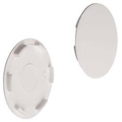 Заглушка стяжки MAXIFIX E пластик. белая  D39мм ,Hafele