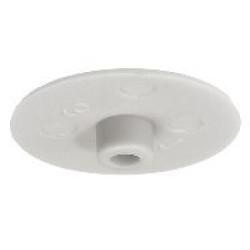 Заглушка для стяжки MINIFIX D15мм пластик.,белая               Hafele(262.24.751)