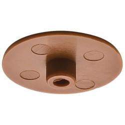 Заглушка для стяжки MINIFIX D15мм пластик.,коричн.                    Hafele(262.24.153)