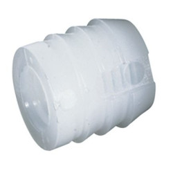 Муфта М6 D10 L11 мм  пластик