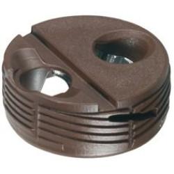 Корпус стяжки TOFIX для плиты 16-25мм пластик коричневый, Hafele