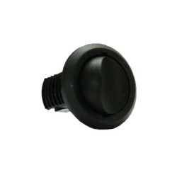 Врезной выключатель механический черный 61N001N              (Ц.К)