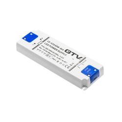 Блок питания 12 В, 50 ВТ с кнопочным выключателем  для светильников       GTV  (LD-SZA50W-MA)