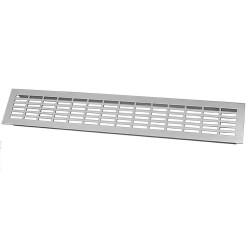 Решетка вентиляционная 480*80мм, алюминий                         (KK-W80800-MO)/(SETE VG-80480-05)