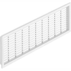 Решетка вентиляционная пласт., белая 68*227мм,  Hafele  (571.55.343)
