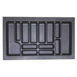 Лоток для столовых приборов серый 900 мм  (840x490x55)                  STARAX (S-2290)