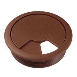 Заглушка для проводов, коричневая