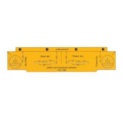 Разметочный шаблон для подъемного газлифта (РШГ260)