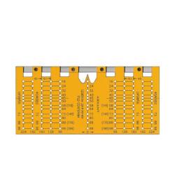 Кондуктор - разметочный шаблон под ручки (РШ224)