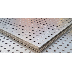 Лист метал. (перфоррация) 10Х10.1000Х2000.0,8х/к.t=28