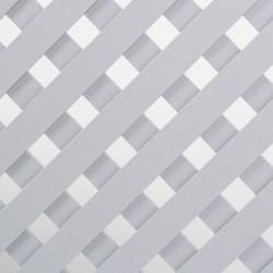 Решетка декоративная 620*300, алюминий