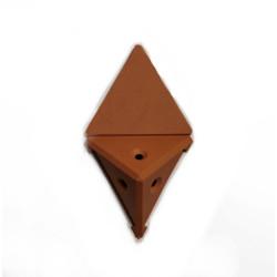 Уголок монтажный угловой  2 п/м  ольха (1-0036-5 Т)