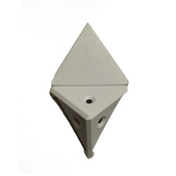 Уголок монтажный угловой  2 п/м белый (1-0036-1 Т)