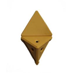 Уголок монтажный угловой  2 п/м бук (1-0036-2 Т)
