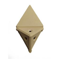 Уголок монтажный угловой  2 п/м клен (1-0036-9 Т)