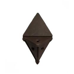 Уголок монтажный угловой  2 п/м коричневый (1-0036-7 Т)