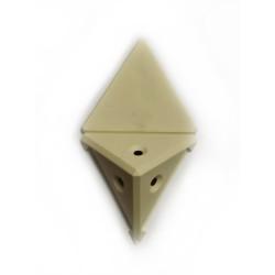 Уголок монтажный угловой  2 п/м крем (1-0036-11 Т)
