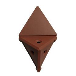 Уголок монтажный угловой  2 п/м яблоня (1-0036-23 Т)
