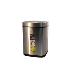 Ведро для мусора сенсорное 9литр, хром                               (ЕК9288МТ-9L)
